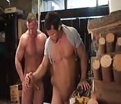 Hot hunks fuck each other