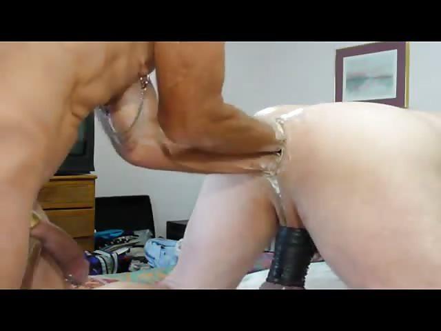 gay dildo sex doppelt in den arsch