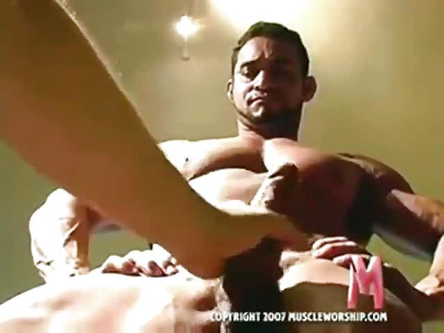 Muscle Sportsmen Teasing
