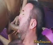 Gloryhole gets fucked