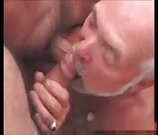 Grandpa gets fucked