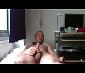 Surinamese boy masturbates huge cum load Thobajiep