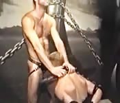 Gay Men Set Up Each Other In Chain Fuck