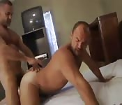 Kinky mature man getting pounded by his hot lover