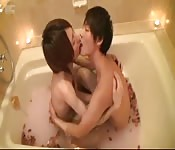 Asian twinks in the bath