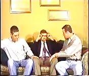 Três profissionais