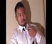 Sexy Japanese businessman