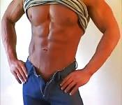 Un modello di fitness meraviglioso