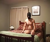 A Masked Man Waiting to be Fucked