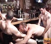 A very open bar