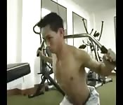 After a work out session