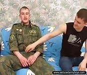 Eastern European soldier