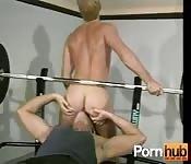 Polvazo en el gimnasio