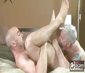 Hot older male fucked