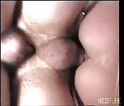 Double chain fuck