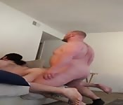 Two hot guys having fun.