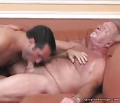 Gay grandpa gets fucked