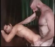 Desirable dude enjoying fantastic anal sex