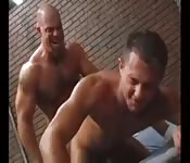 Muscle boys in jail need a sweet release
