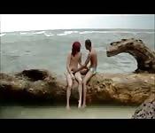 Romance sur la plage...