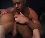 Mec superbe doigté par un étalon sexy