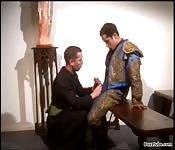 Priest vs. matador