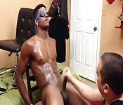 muskularni czarni mężczyźni porno Dylan Ryder Lesbijki porno