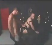 Dirty jeans-clad hunk banging a stranger in the ass