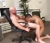 Crazy Gay Boss and lover