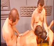 Una orgía gay de alta gama
