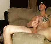 Guy with big cock and tattoo