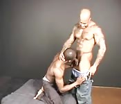 Two huge black men with big cocks