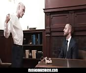 Teen takes Mormon President Cock Raw