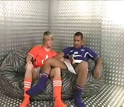 Joueurs gay s'amusent ensemble