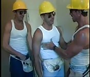 Gay construction workers