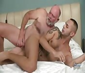 Older and younger gay porn