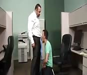 Horny boss wants to fuck