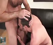 Matt Sizemore riding a nice cock