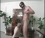 Uno schiavo magrolino