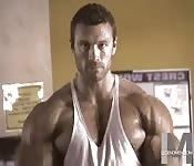 Der perfekte Muskelbody