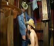 Foda e chupada de cowboys
