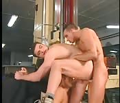 Delectable hunk having unforgettable threeway fun