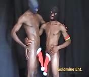 Due ragazzi di colore un po' strani