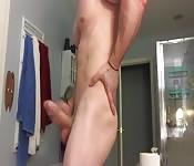 Macho musculoso y sexy farda de rabo