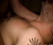 Потрясащий секс в кровати