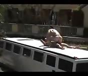 Polvazo intenso en la limusina