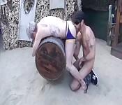 Una scopata anale con tanto di dita