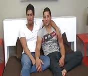 A cute gay couple