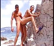 Penetración cachonda en playa
