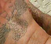 Tattooed Dudes Pleasure Each Other